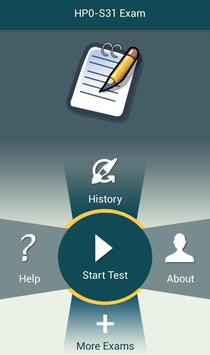 PL HP0-S31 HP Exam apk screenshot