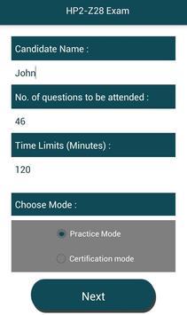 PL HP2-Z28 HP Exam screenshot 1