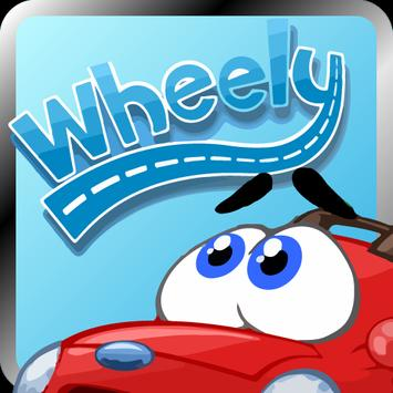 Wheely join race poster