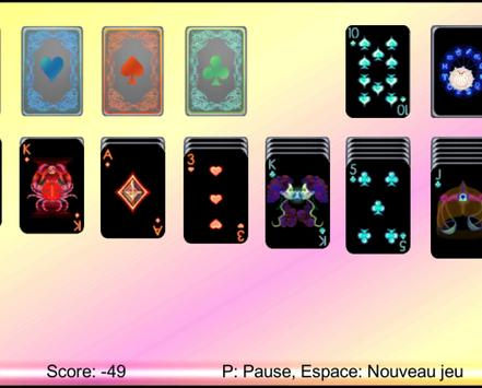 Black Solitaire screenshot 4