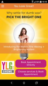 YLG @ Home – Salon at your Doorstep poster