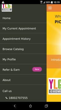 YLG @ Home – Salon at your Doorstep apk screenshot