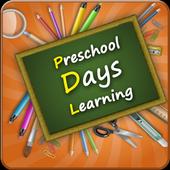Preschool Week Days Learning icon