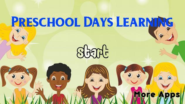 Preschool Week Days Learning screenshot 4