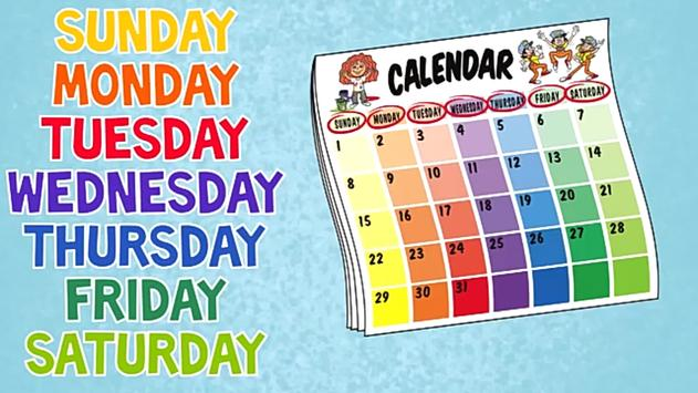 Preschool Week Days Learning screenshot 5