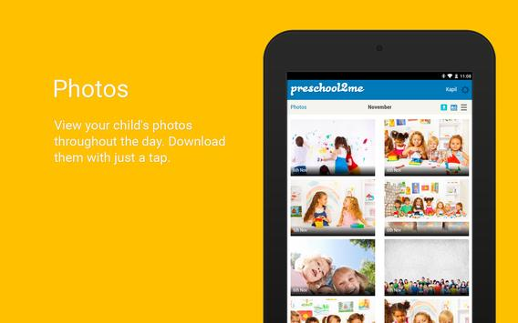 Preschool2me for Parents screenshot 14