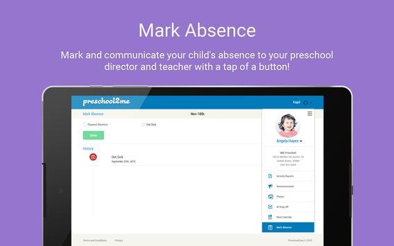 Preschool2me for Parents screenshot 8