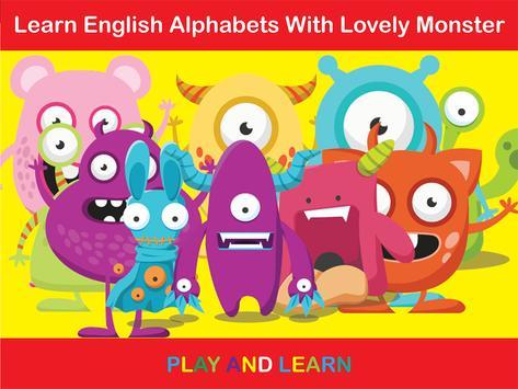 ABC Monster - Phonics Alphabet screenshot 11