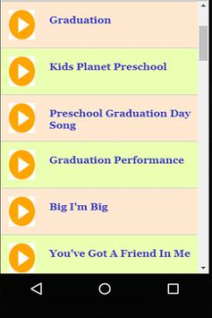 preschool graduation songs and ideas for android apk download