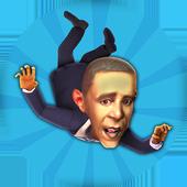 President Obama Fly icon