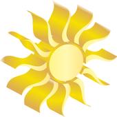 3D theme Weather, PR.CLK wea icon
