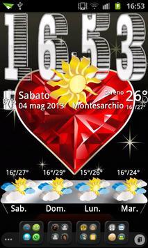 3D theme Weather, PR.CLK wea screenshot 1