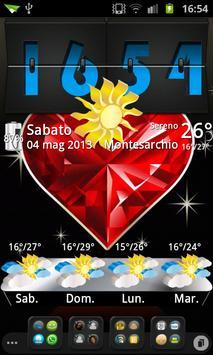 3D theme Weather, PR.CLK wea screenshot 2
