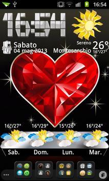 3D theme Weather, PR.CLK wea screenshot 3