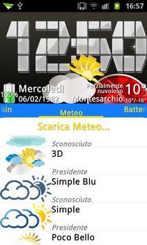 3D theme Weather, PR.CLK wea screenshot 4