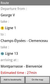 Metro Paris Subway apk screenshot