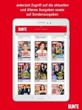 BUNTE Magazin apk screenshot