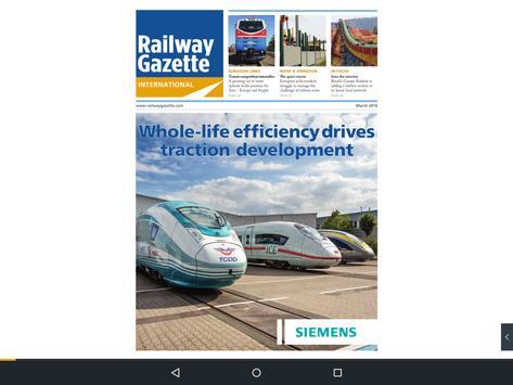 Railway Gazette Tablet Edition apk screenshot