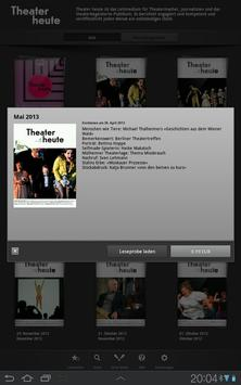 Theater heute apk screenshot