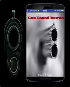 Gun Sound  Button poster