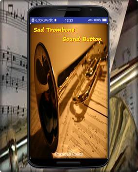 Sad Trombone Sound Button poster