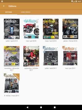 Cafe Racer magazine poster
