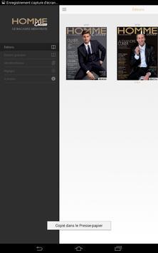 Homme de luxe apk screenshot