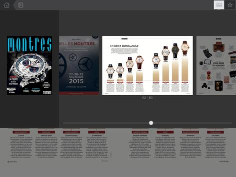 Montres Magazine apk screenshot
