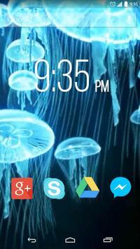 Oceanic Jellyfish poster