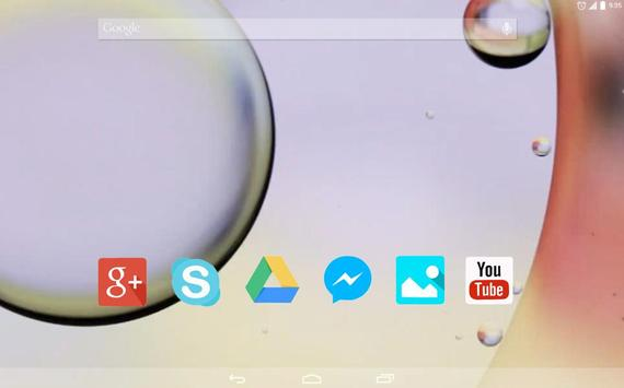 Bubbles on the glass apk screenshot