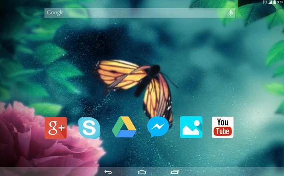 Butterfly and Dew Drop apk screenshot