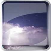 A storm at  The Sea icon