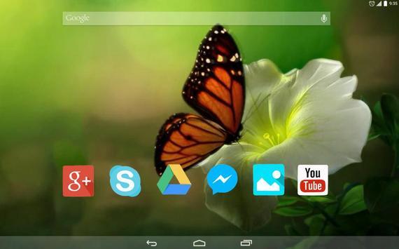 Butterfly in the garden apk screenshot