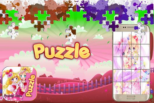 Pretty Cure puzzle poster