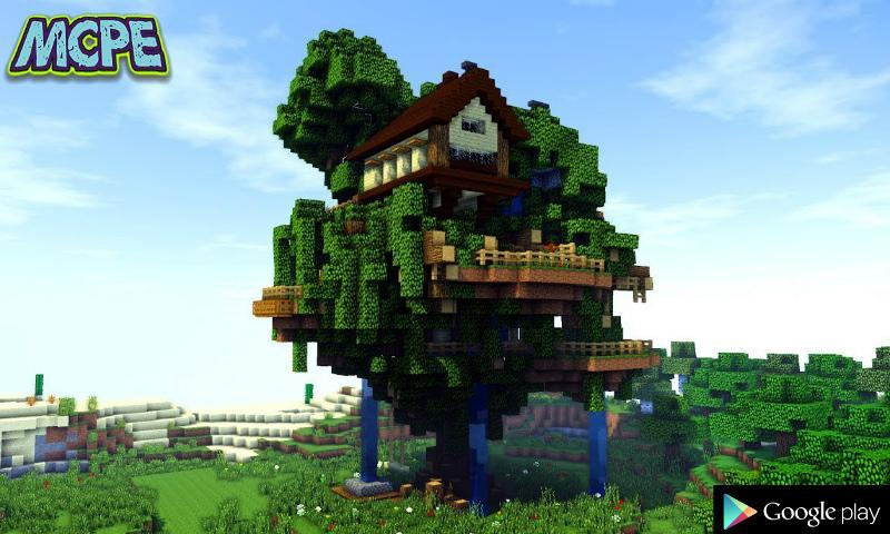 Strange Treehouse Mod For Mcpe For Android Apk Download Interior Design Ideas Pimpapslepicentreinfo