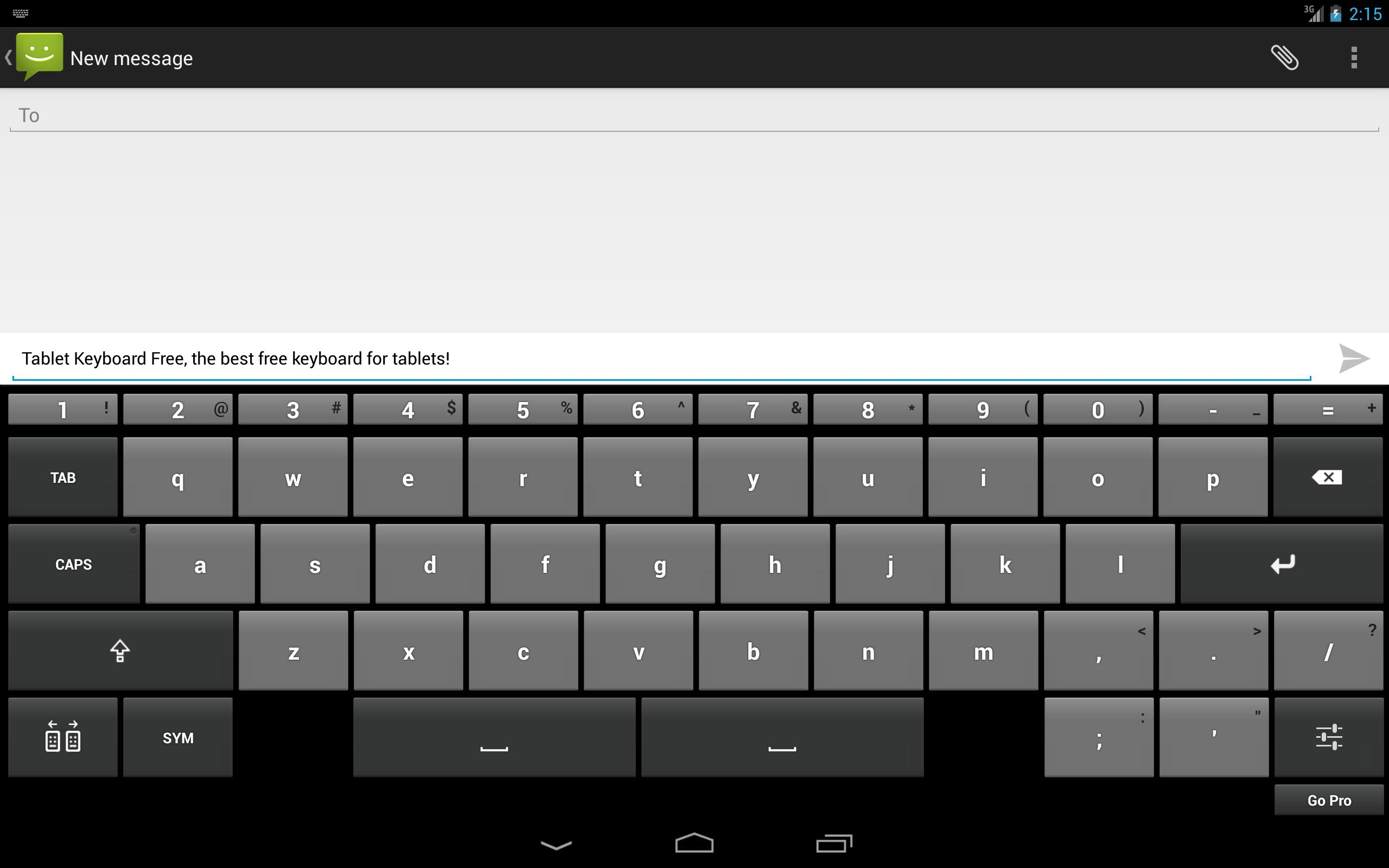 Tablet Keyboard Free for Android - APK Download