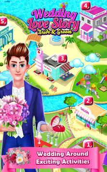 Wedding Love story - Bride & Groom Makeover apk screenshot