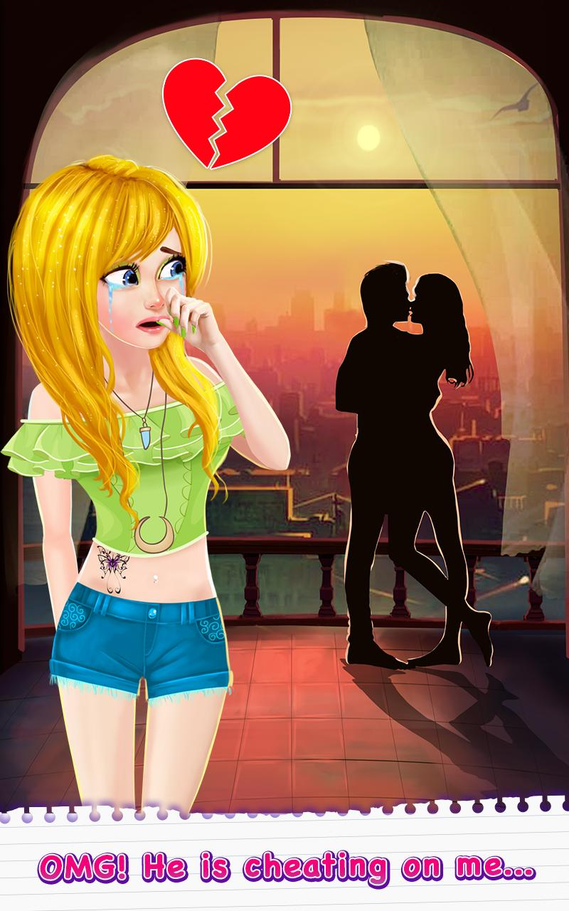 Secret High School Story Game: Love And Breakup for Android