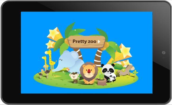 Pretty zoo for kids screenshot 3
