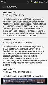 Podcast Nerd apk screenshot