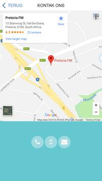 Pretoria FM apk screenshot