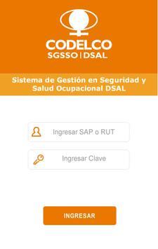 Codelco SGSSO  DSAL screenshot 1