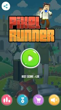 Pixel Runner Ben apk screenshot
