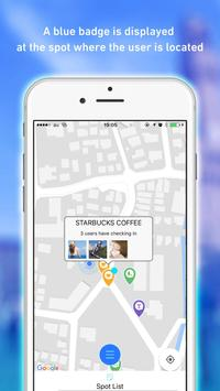 PREZENCE - connect to people nearby apk screenshot
