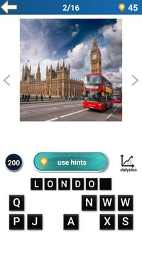 City Quiz - World تصوير الشاشة 1