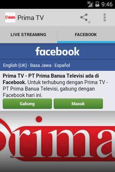 Prima TV apk screenshot