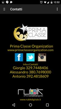 Prima Classe Organization screenshot 10