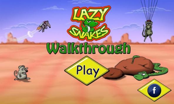 Lazy Snakes Walkthrough poster