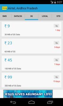 iRecharge Recharge Plan Offers apk screenshot