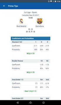 Football Predictions Prima Tips تصوير الشاشة 22